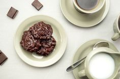 This is a recipe for flourless chocolate walnut cookies. It's the perfect dessert and kosher for Passover!