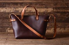 Handmade Leather Bags by River City Leather Company in Ohio