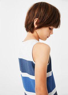 Striped bicolor t-shirt Boy Haircuts Long, Cool Boys Haircuts, Baby Boy Hairstyles, Boys Long Hairstyles, Hairstyles Haircuts, Long Hair Cuts, Long Hair Styles, Teenage Boy Fashion, Cute Blonde Boys