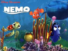 Everyone loves Nemo!! How can you not with that cute little flipper?