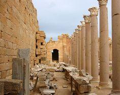Severan Basilica, Leptis Magna, Libya. | Flickr - Photo Sharing!