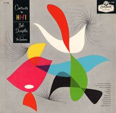 Contrasts in Hi-Fi / #vinyl / Bob Sharples / Cover Art Alex Steinwiss