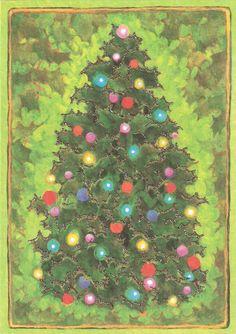 Old Christmas Post Card —  Vintage (800×1133)