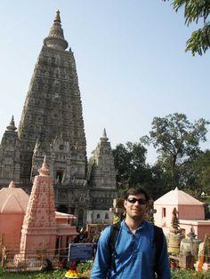 Conhecendo onde Buda atingiu o nirvana na Índia (Foto: Matheus Pinheiro de Oliveira e Silva)