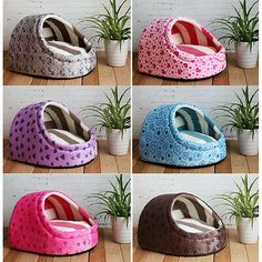 New Sweet Half Covered Pet Dog Cat Tent House Bed Types SmallMedium Nueva Sweet Half Covered Pet Dog Cat Carpa House Tipos de cama SmallMedium Dog House For Sale, Large Dog House, Dog House Bed, Dog Tent, Cheap Dog Beds, Puppy Kennel, Pet Dogs, Pets, Cat Supplies
