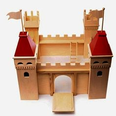 how to build a wooden castle