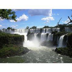 Iguaza watervallen fotobehang