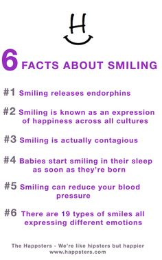 6 Smile Facts