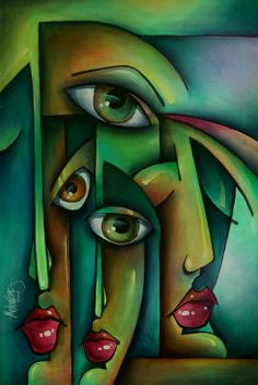 Resultado de imagem para michael lang abstract art