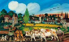 Antonio Ligabue: nature and painting Henri Rousseau, Marc Chagall, Naive Art, Outsider Art, Anton, Van Gogh, Folk Art, Primitive, Opera