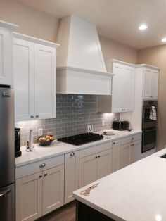 Here are some picture from a recently finished job using Waypoint Living Spaces…