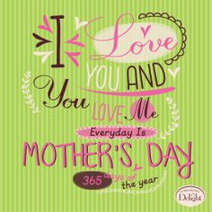Mother's Day 365 days a year! #MomsDayDelightSweeps
