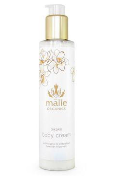 Malie Organics 'Pikake' Organic Body Cream available at #Nordstrom