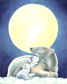 .... They will always come before my own happiness. Moonlight Snuggle ~ Jo Gershman