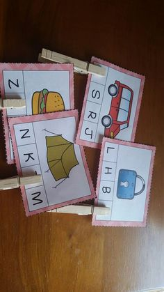 Clip It End Sounds. Students need to put a paper clip or clothes pin on the correct end sound letter for each picture. This packet includes 32 Clip It pictures plus 3 other games for end sounds.