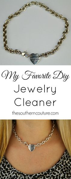 Don't ever buy expensive jewelry cleaners ever again with all those harsh chemicals. You can make your very own for much less money too. See the few ingredients you need at thesoutherncouture.com. Chances are you already have them in your pantry.