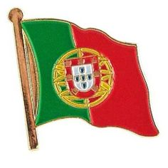 """Portugal Lapel Pin by US Flag Store. $1.29. Low Cost Shipping Available!. Baked Enamel Finish. Approx 3/4"""" x 1/2"""". Gold Metal Lacquered Design and Clutch Pin. International Flag Lapel Pin. The Portugal flag lapel pin is a great way to show your support for your country. Our pins cost less than our competitors, but are equal or higher quality. We sell thousands of pins a week, and we pass the savings on to you! This Portugal Flag lapel pin has an all gold metal lacquered desi..."""