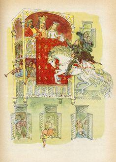 Illustrated by Milada Marešová. Prague 1953