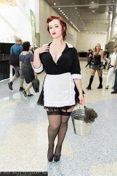 Moira Ou0027Hara from American Horror Story Murder House  sc 1 st  Pinterest & American Horror Story Young Moira Adult Costume | Pinterest ...