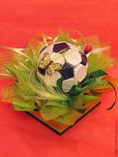 футбольный мяч из конфет (5)