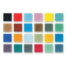 Authentic Glass Mosaic Tiles - Assorted Colors - 3/8` $11.62