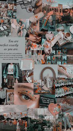Iphone Wallpaper Tumblr Aesthetic, Mood Wallpaper, Iphone Background Wallpaper, Aesthetic Pastel Wallpaper, Retro Wallpaper, Aesthetic Wallpapers, Collage Background, Photo Wall Collage, Cute Patterns Wallpaper