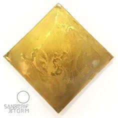 Aurum 79 #art #resin #wood #gold #water #sansserifstorm