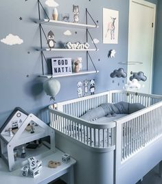 This but with grey for the nursery