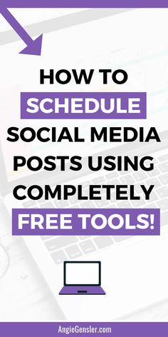 How to schedule social media posts without spending a dime Social Media Analytics, Social Media Content, Social Media Tips, Social Media Automation, Social Media Management Tools, Marketing Automation, Social Networks, Digital Marketing Strategy, Marketing Tools