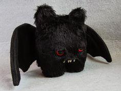Goth Shopaholic: Cutest Plush Bats!!! I need ALL of deez!!! ^..^