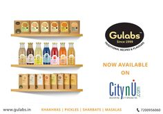 Gulabs now available on CitynU.