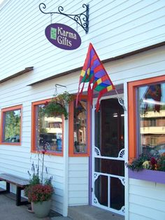 favorite shop in the world! in River falls WI Karma, Wisconsin, Childhood, Shops, Outdoor Structures, America, Smile, River, Usa