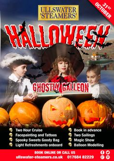 Ghostly Galleon Halloween Cruise - 31st October 2015