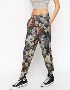 #joggers #floral #print #sporty