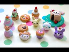 ▶ ♡ Polymer Clay Charm Update ♡ - YouTube