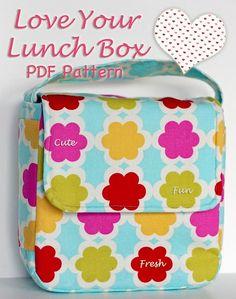 PDF lunch box pattern :)