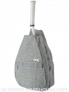 Glove It Tennis Backpack Bag Silver Lining