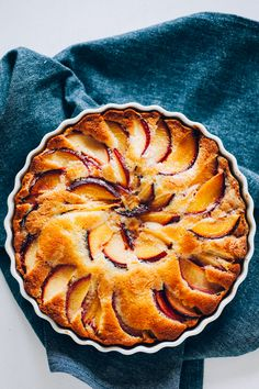 The easiest summer stone fruit cake you could possible make - great with plums, peaches, apricots or whatever else you've got!