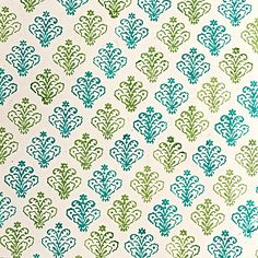 One Kings Lane - From Start to Finish - S/5 Decor Gift Wrap, Blue/Green $20