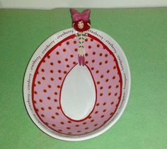 Rare DEPARTMENT 56 Cranberry Girl Candy Dish 3D Unique Design Mint Condition in Collectibles, Decorative Collectibles, Decorative Collectible Brands, Department 56, Other Department 56 | eBay