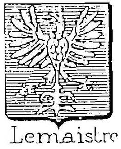 Lemaistre coat of arms Coat Of Arms, Peace, Google Search, Eyes, Family Crest, Sobriety, The Sentence, World