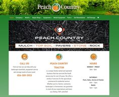 E-commerce website we built for Peach Country Tractor in Mullica Hill, NJ