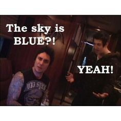 Avenged Sevenfold Funny Quotes | Synyster&Zacky, avenged sevenfold | Tumblr