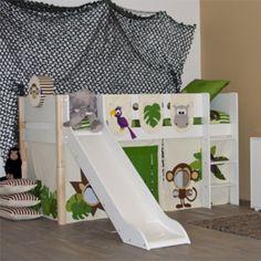 Kinderbed Flexa voor de #kinderkamer | Flexa childrens bed for a jungle #kidsroom