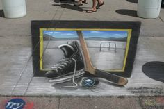 chalk art front Isn't perspective Cool Paired with Chemistry in Making Chalk and Mathematical Perspective this is a great STEAM lesson 3d Chalk Art, Chemistry, Art Festival, Cool Stuff, Creative, Buffalo, Blog, Science, Pintura