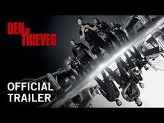 "DEN OF THIEVES | Official Trailer -- Gerard Butler, 50 Cent, Pablo Schreiber, O'Shea Jackson Jr. -- A Los Angeles crime saga in the vein of ""Heat"", DEN OF THIEVES follows the intersecting and often personally connected lives of an elite unit of the LA County Sheriff's Dept. and the state's most successful bank robbery crew as the outlaws plan a seemingly impossible heist on the Federal Reserve Bank of downtown Los Angeles.  