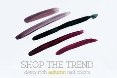 Autumn Nail Colors