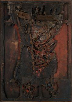 Muñoz, Lucio: La vaca Lucio Muñoz paintings, plastic arts, visual arts, fine arts, abstract
