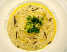 Black Truffle Risotto | Charlie Palmer Group by Charlie Palmer
