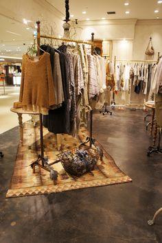 BEARDSLEY(ビアズリー)ルクア大阪店|アパレル・雑貨|大阪・東京の一級建築士・設計事務所SWING